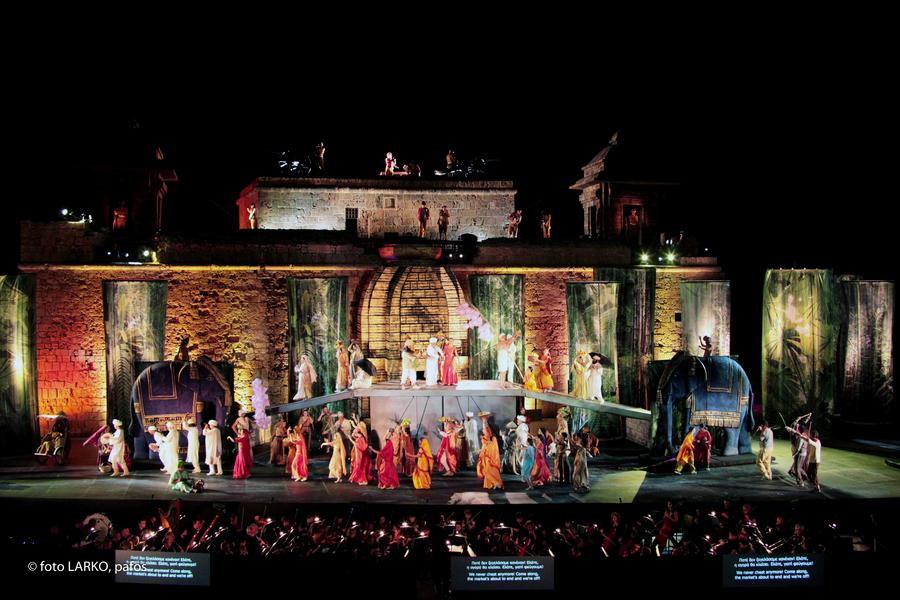 Pafos Aphrodite Festival Opera Lakme © Photo LARKO, pafos