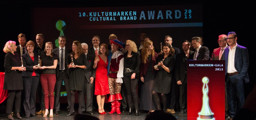 10th Cultural Brands Award 2015: Winners, Photo: Philipp Sattler