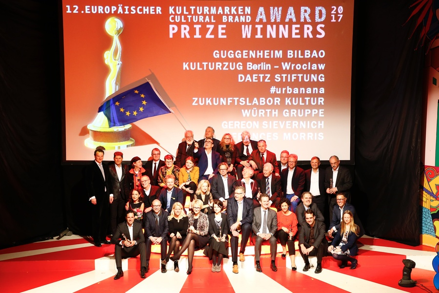Winners, Laudatories and jugdes of the Cultural Brand Award 2017