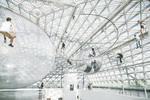 Installation von Tomás Saraceno : 'In Orbit' (2013)